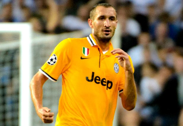 Juventus will not be intimidated by Galatasaray, insists Chiellini