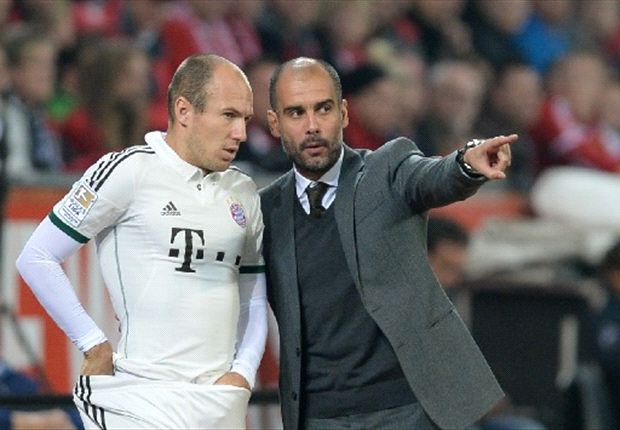 'I'm in love with Robben!' - Guardiola