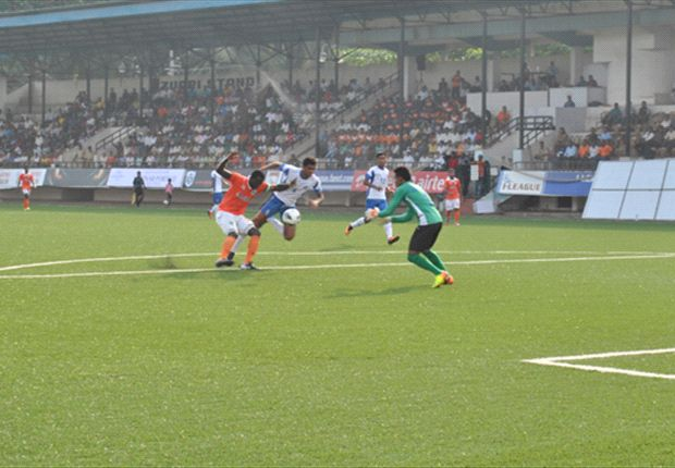 Rangdajied United 1-2 Sporting Clube de Goa: The Flaming Oranje finally bag a win