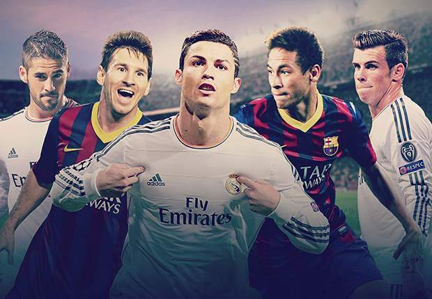 Pick your Barcelona and Real Madrid teams ahead of the Clasico