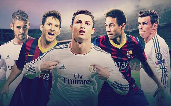 ELC Real Madrid Barcelona Pick Your XI