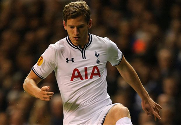 Vertonghen happy with left-back role at Tottenham