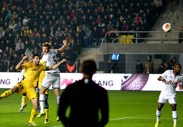 FC Sheriff 0-2 Tottenham: Vertonghen & Defoe maintain perfect Spurs record