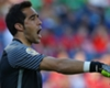Chile goalkeeper Claudio Bravo