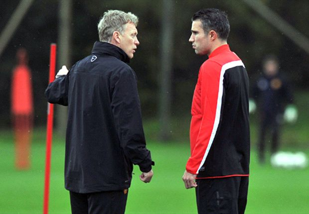 Van Persie set for Stoke City return, says Manchester United boss Moyes