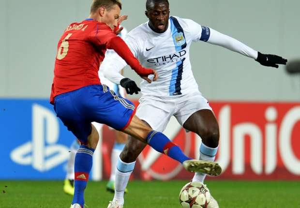 Yaya Touré denunció insultos racistas luego del partido que su equipo ganó 2-1 frente a CSKA.
