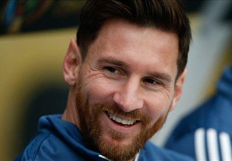 Ya entrena con la Selección argentina