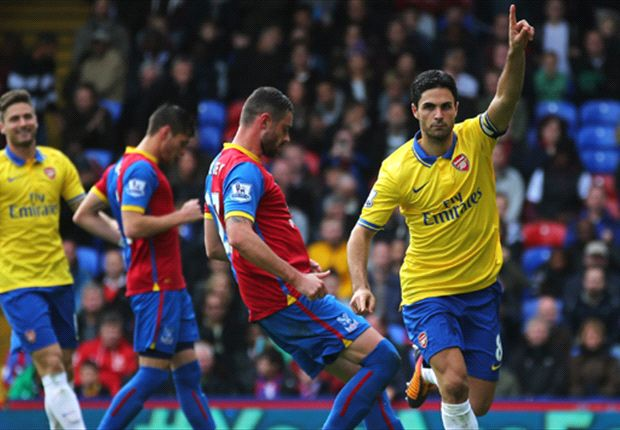 Crystal Palace 0-2 Arsenal: Szczesny heroics secure the points for 10-man Gunners