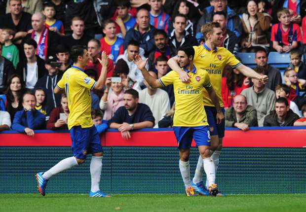 Arteta opened the scoring for the Gunners.