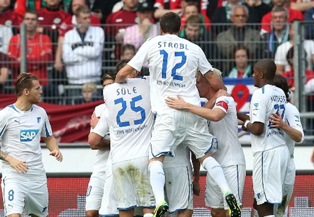 Die TSG Hoffenheim jubelte in Hannover gleich vierfach