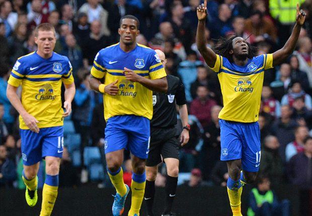 Aston Villa 0-2 Everton: Lukaku and Osman seal the points for Martinez's men