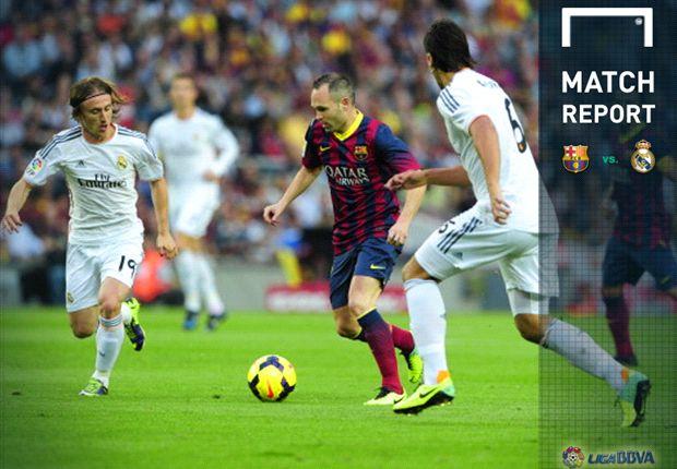 Neymar Gemilang, Barcelona Kuasai El Classico