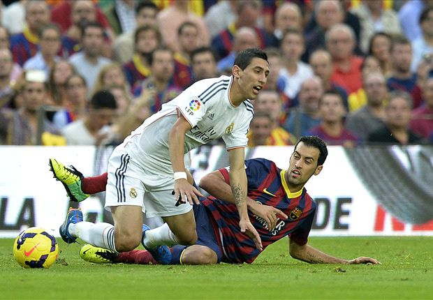 Busquets fed up of Madrid 'tears'