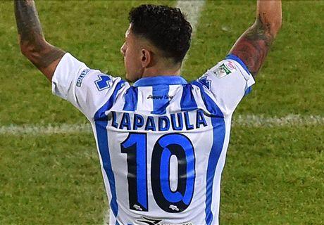 Lapadula has AC Milan medical