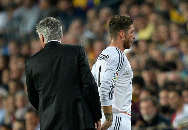 Sergio Ramos: Real Madrid players get on great with Ancelotti