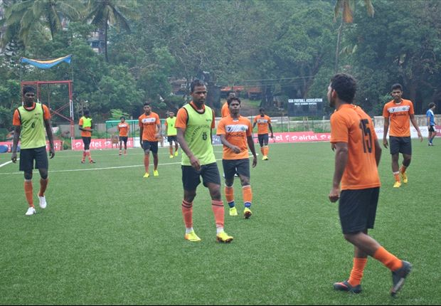 Sporting Goa training at Duler (Photo: SCG)