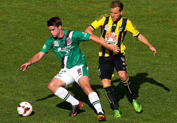 Wellington Phoenix 0-0 Newcastle Jets: Spoils shared in Napier