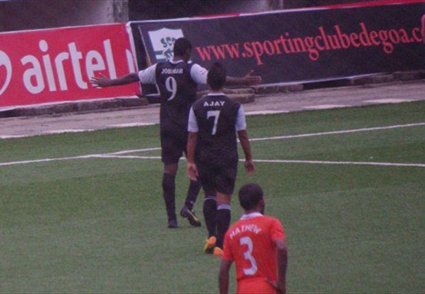 Sporting Clube de Goa 1-3 Mohammedan Sporting: A Josimar brace sinks the Goan outfit