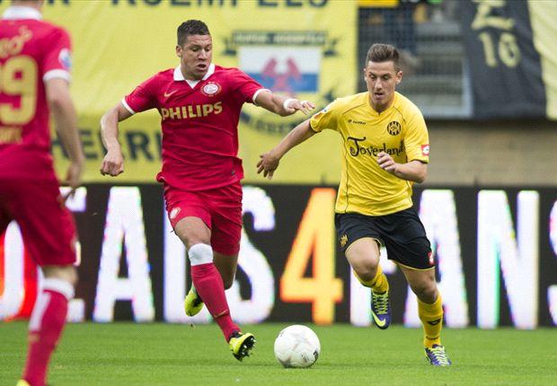 PSV in slotfase onderuit in Kerkrade