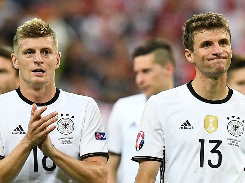 German stars Muller and Kroos rue missed opportunities after France stalemate