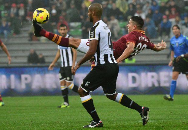 Bekuk Udinese Dengan Sepuluh Pemain, AS Roma Terus Pertahankan Rekor