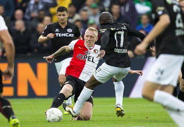 Feyenoord dupeert zichzelf in De Kuip
