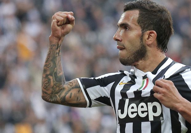 Conte impressed by Tevez & Llorente strike partnership