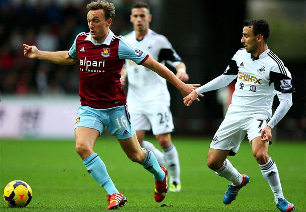 Swansea 0-0 West Ham: All square at the Liberty Stadium