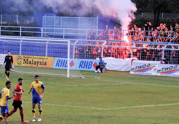 Young Lions denied precious win by Malaysian Ultras
