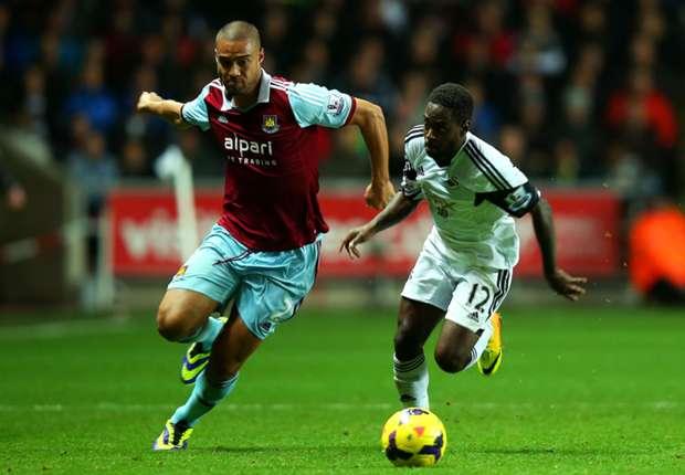Swansea City Gagal Tumbangkan West Ham United
