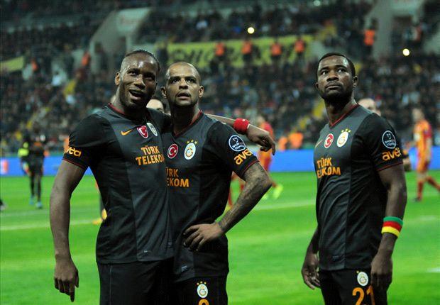 Mit Drogba und Sneijder zum Sieg - Almeida rettet Besiktas einen Punkt