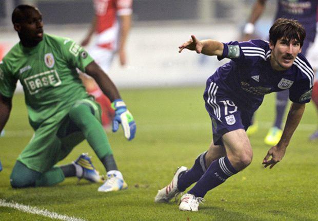 Sacha Kljestan scores in Anderlecht draw