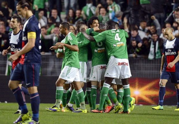 Saint-Etienne 2-2 Paris Saint-Germain: Matuidi saves Parisiens from first defeat