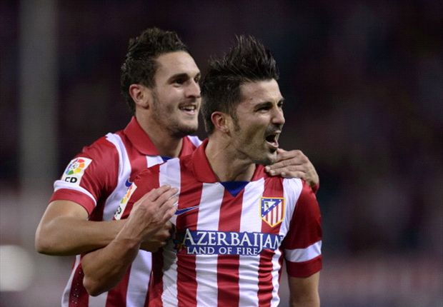 Villa: Atletico should aim to challenge Barcelona & Madrid