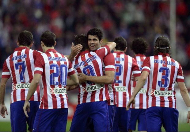 David Villa Bintang Atletico Madrid