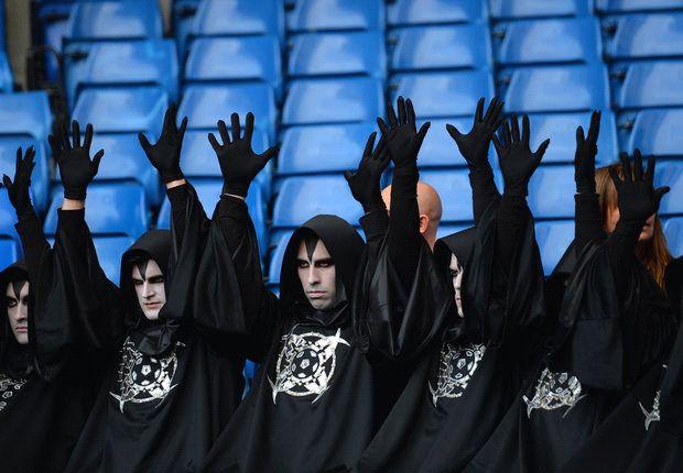 Círculos misteriosos en el partido de Chelsea