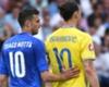 Motta très heureux de jouer pour l'Italie