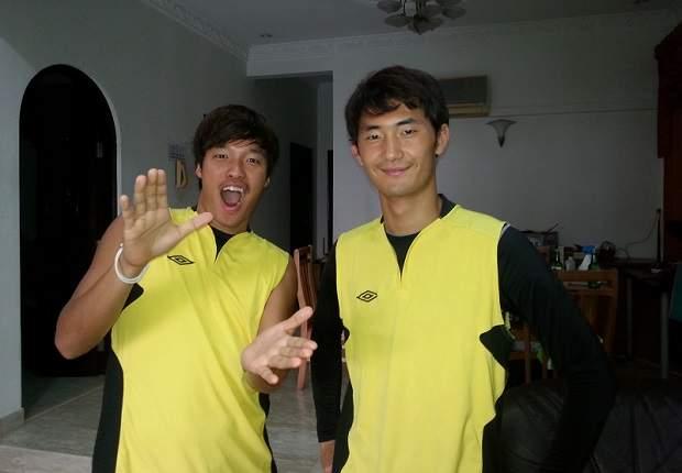 Park Kang Jin & Kim Min Ho: housemates, good friends and teammates