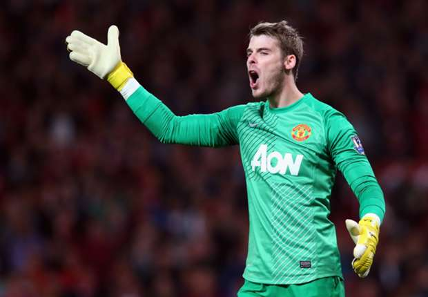 De Gea can be best goalkeeper in the world, says Manchester United coach