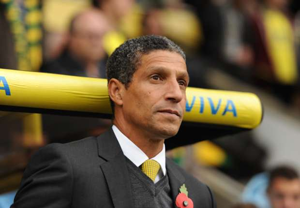Norwich boss Hughton to rotate for Manchester United cup clash