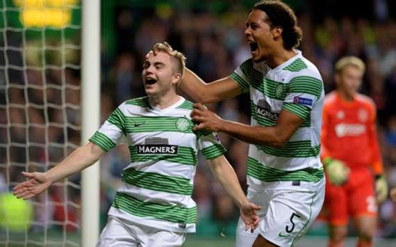 Celtic's James Forrest.
