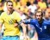 Ibra: Chiellini in hospital if we had feud