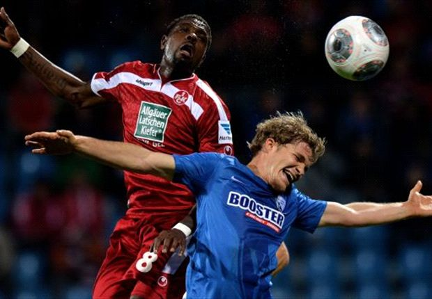 Idrissou und der FCK waren zuletzt nicht mehr obenauf