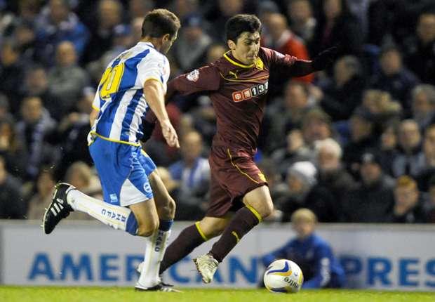 Brighton 1-1 Watford: Forestieri denied by goal-line controversy