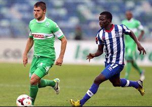 Marc Van Heerden, Amazulu, Frank Sarfo Gyamfi, Maritzburg United, PSL, 27.10.2013
