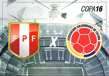 LIVE: Peru vs Colombia