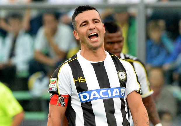 Di Natale announces his retirement from football