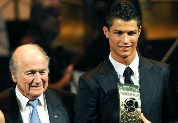 Blatter: Ronaldo is outstanding but I still have my favourite
