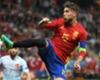 Ramos jugó con fiebre ante Turquía