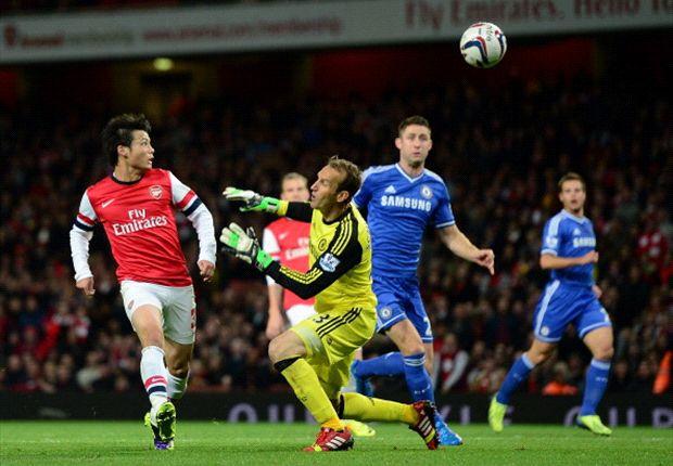 Arsenal 0-2 Chelsea: Mata magic helps Blues overcome below-par Gunners